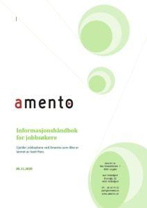 Bilde som viser forside av informasjonshåndbok for jobbsøkere